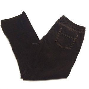 Eddie Bauer Womens Curvy Bootcut Corduroy Pants